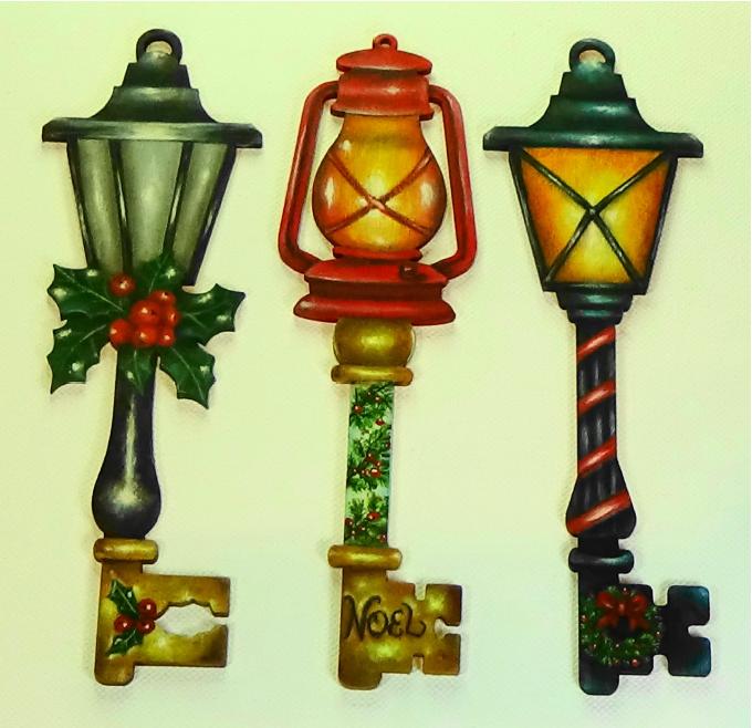 Holiday Lantern Keys - E-Packet - Kerry Anderson