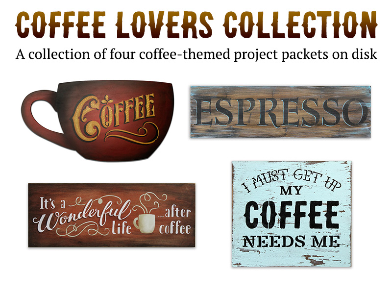 Coffee Lovers Digital Packet Collection on Disc