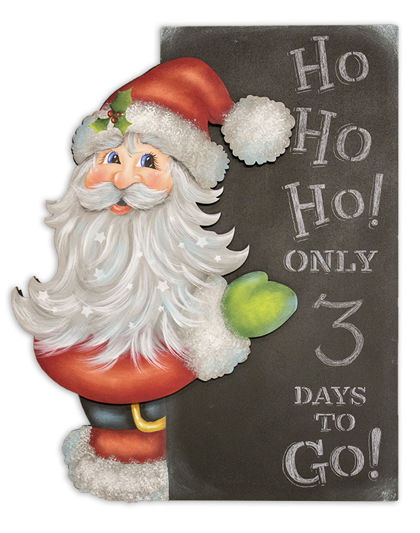 Ho Ho Ho Countdown - DVD and Pattern Packet - Patricia Rawlinson