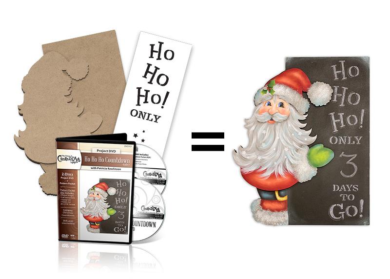 Ho Ho Ho Countdown Deluxe DVD Set