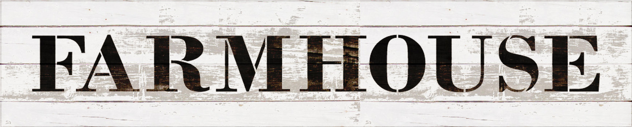 "Farmhouse - Country Serif - Word Stencil - 15"" x 3"" - STCL1969_1 - by StudioR12"