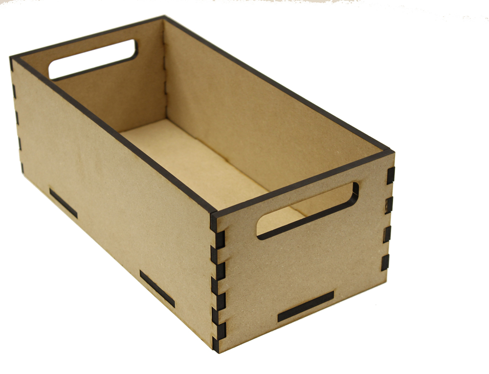 Long Rectangle Tote Box - 15in