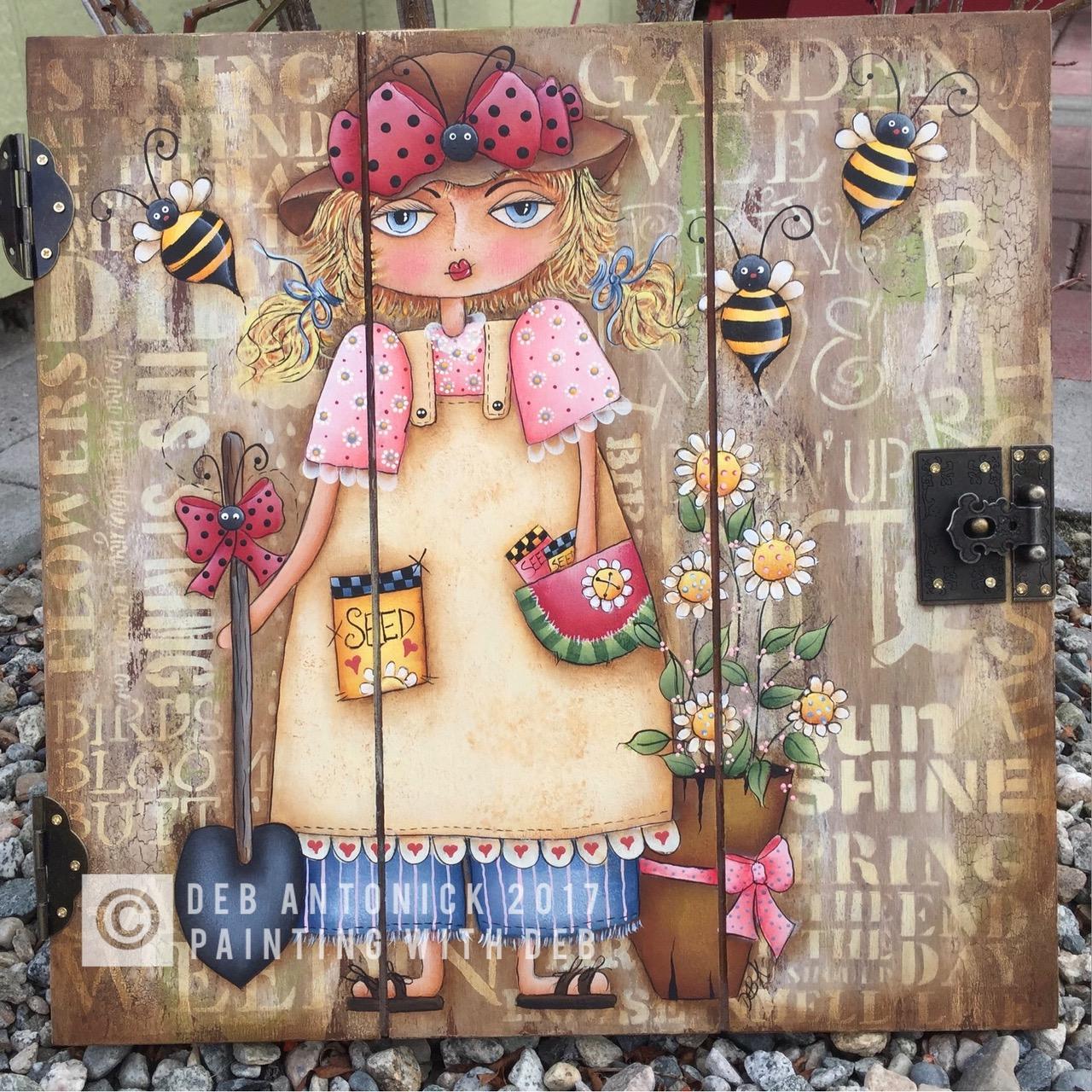 Mary's Garden - E-Packet - Deb Antonick
