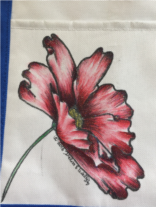 Cosmos, Summer Tote - E-Packet - Debra Welty