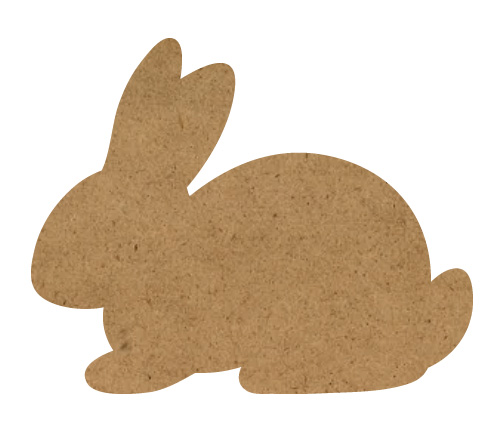"Bunny Wood Surface - 10"" x 8"""