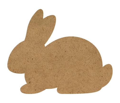 "Bunny Wood Surface - 20"" x 16"""
