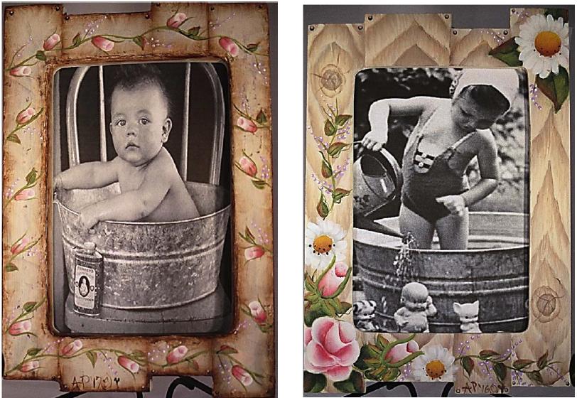 Shabby Chic Frames - E-Packet - Ann Perz