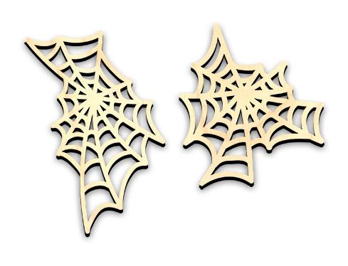 "Spooky Spiderweb Embellishments - Jumbo - 4 3/4"""" x 5 3/8"" & 4 1/2"" x 6 5/8"""