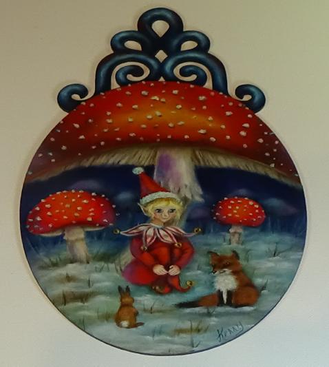 The Mushroom Elf - E-Packet - Kerry Anderson