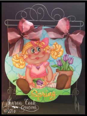 Springtime Staci - E-Packet - Sharon Cook