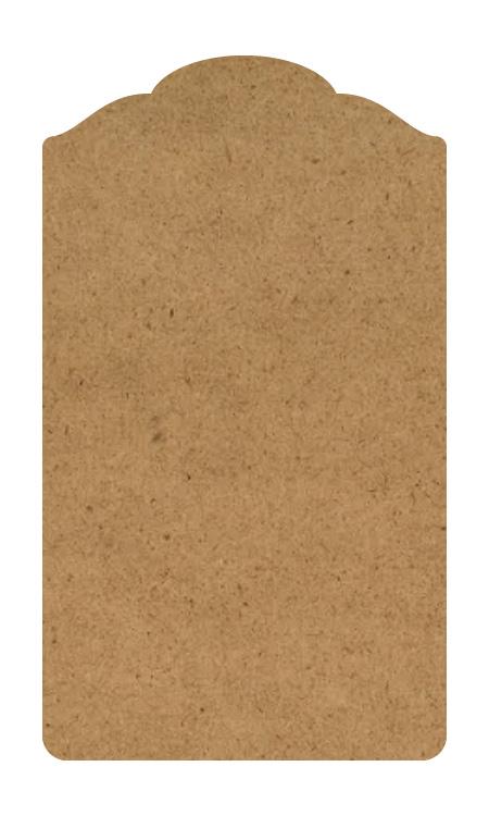 "Colonial Wood Tag Surface - Medium - 15"""