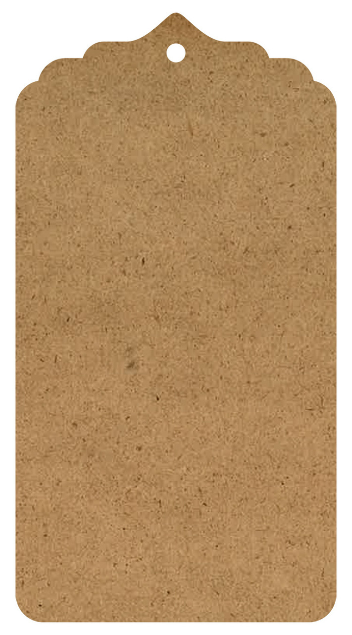"""Classical Wood Tag Surface - XL - 24"""""""