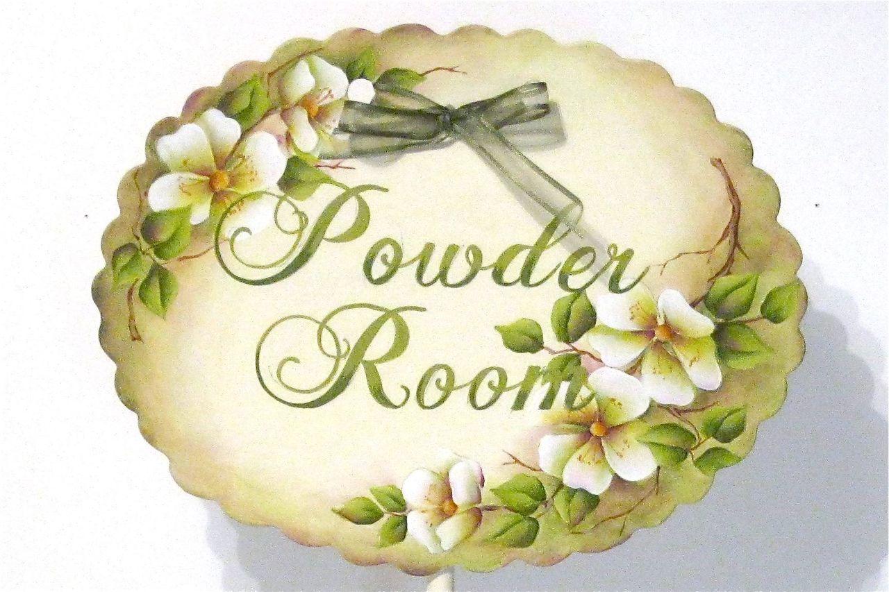 White Roses Powder Room - E-Packet - Christy Thornton-Deason