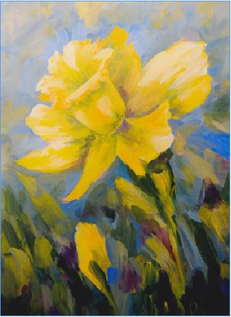 Daffodil - E-Packet - Patty Stouffer
