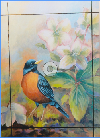 Robin and Roses - E-Packet - Patty Stouffer