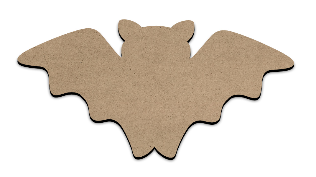 "Batty Plaque - X-Large - 22"" x 11"""