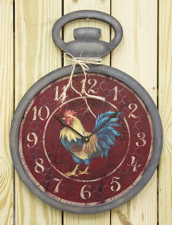 Pocketwatch Rooster - E-Packet - Patricia Rawlinson