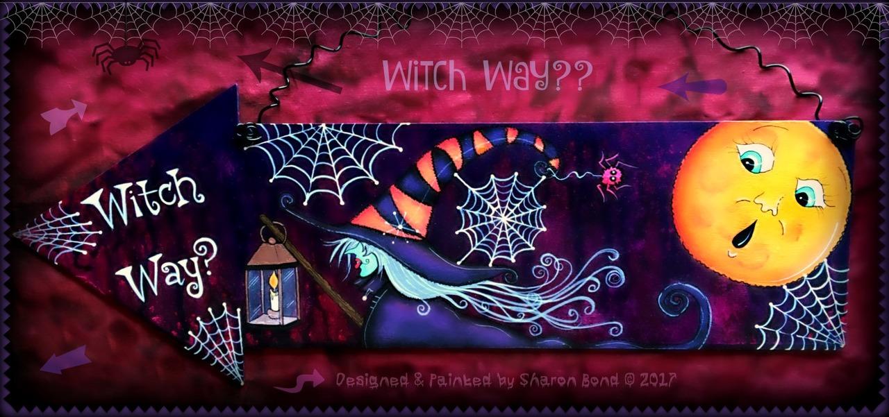 Witch Way? - E-Packet - Sharon Bond