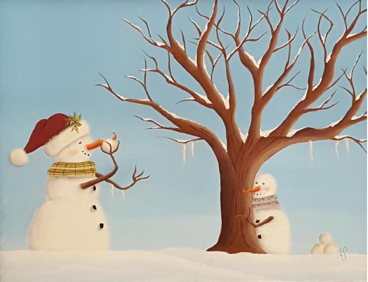 Snowball Fight - E-Packet - Linda Samuels