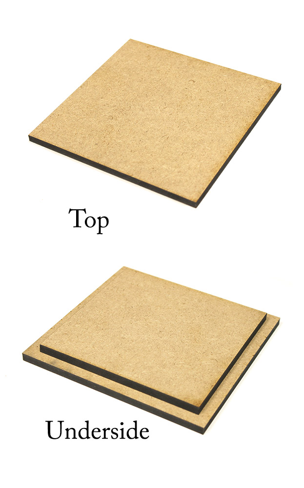 Square Stepped Lid - 5.5in