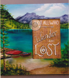 Not All Who Wander Are Lost - E- Packet - Judith Westegaard