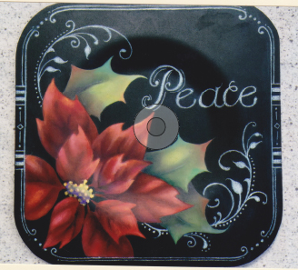 Peaceful Poinsettia - E- Packet - Judith Westegaard