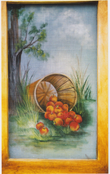 Apple Screen Painting - E-Packet - Janice Miller