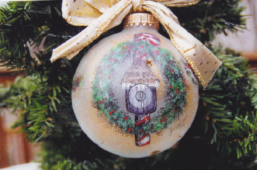 Birdhouse In Wreath Ornament - E-Packet - Janice Miller