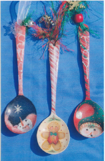 Spoon Ornaments - E-Packet - Janice Miller