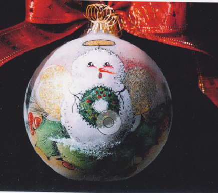 Snowman Angel Ornament - E-Packet - Janice Miller