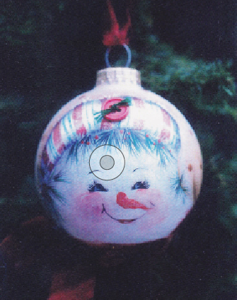 Snowman Face Ornament - E-Packet - Janice Miller