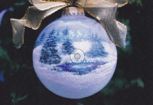 Winter Glass Ornament - E-Packet - Janice Miller