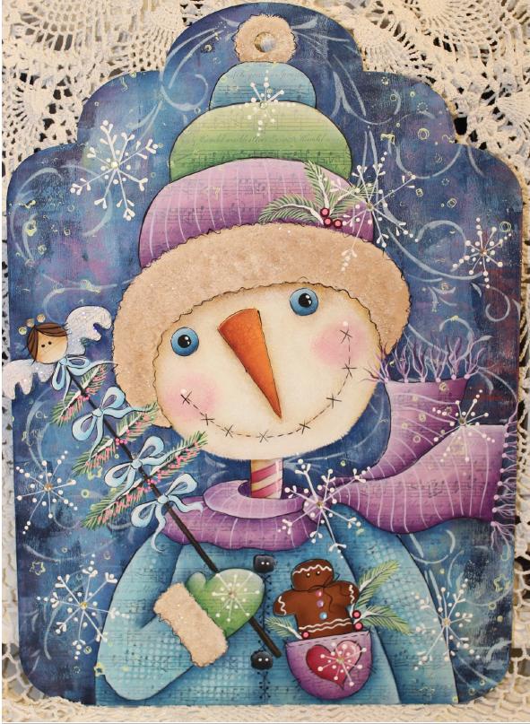 Huckleberry Snow - E-Packet - Deb Antonick