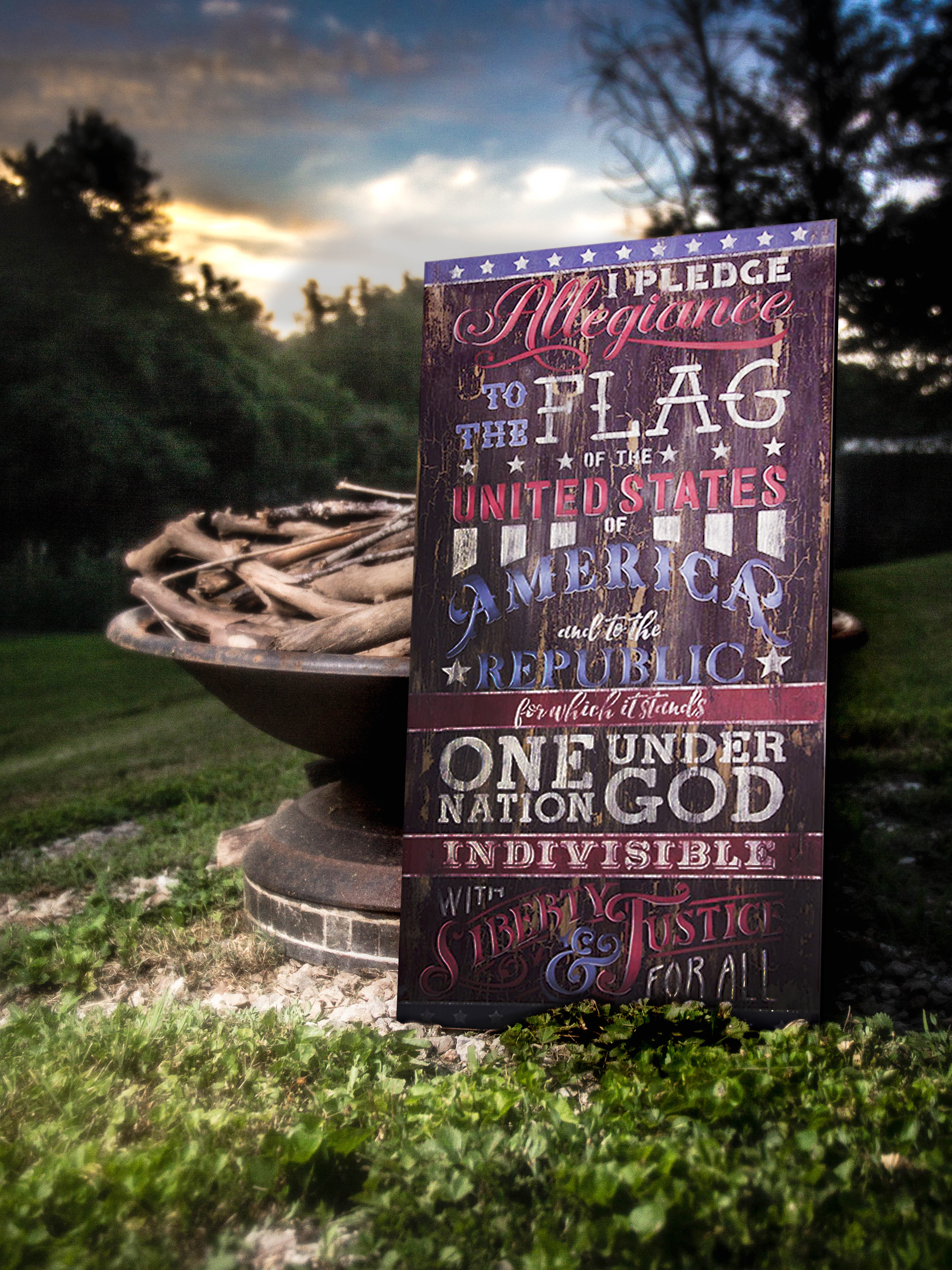 Pledge of Allegiance DVD and Pattern Packet - Patricia Rawlinson