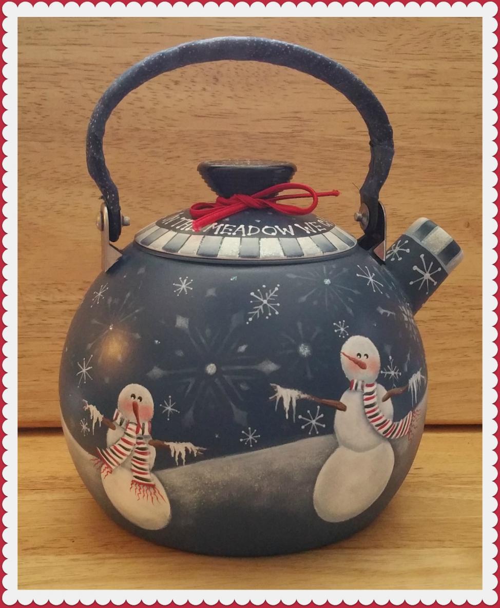In The Meadow Teapot - E-Packet - Pat Jarrett