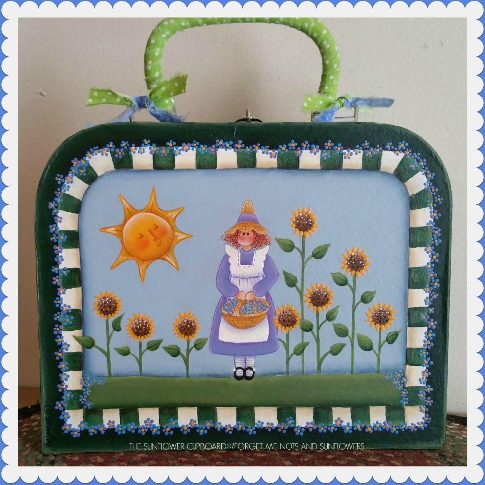 Forget-Me-Nots and Sunflowers - E-Packet - Pat Jarrett