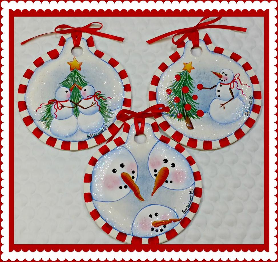 So Cute Snowmen - E-Packet - Pat Jarrett