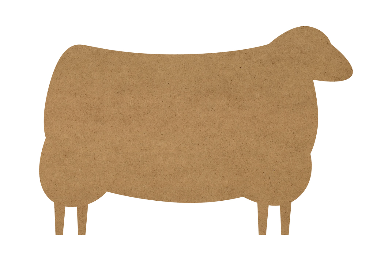 "Sheep Surface - Jumbo - 28"" x 18.5"" - WDSF1398_4"