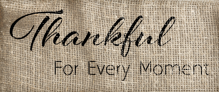 """Thankful For Every Moment Stencil by StudioR12 -  Blessings Word Art - 16"""" x 7"""" - STCL2209_1"""