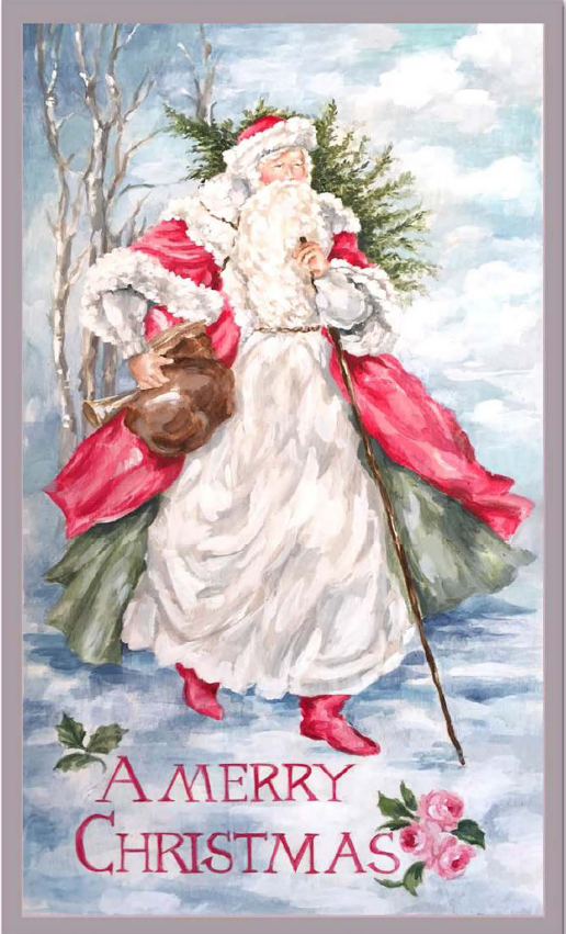 North Woods Vintage Santa - E-Packet - Debi Coules