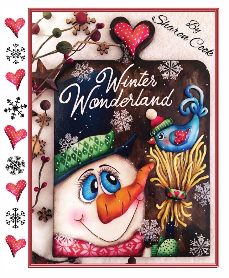 Winter Wonderland - E-Packet - Sharon Cook
