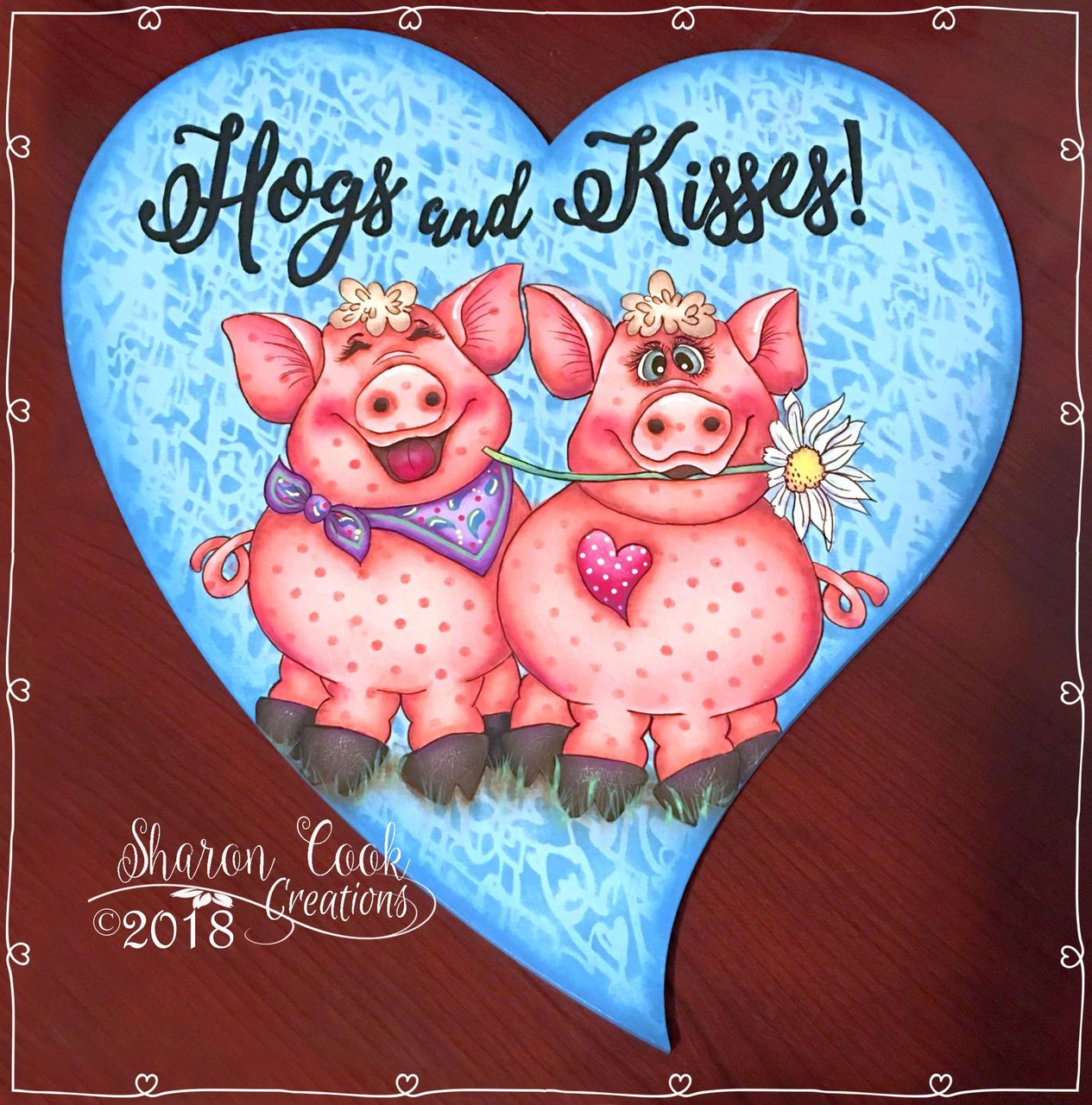 Hogs And Kisses - E-Packet - Sharon Cook