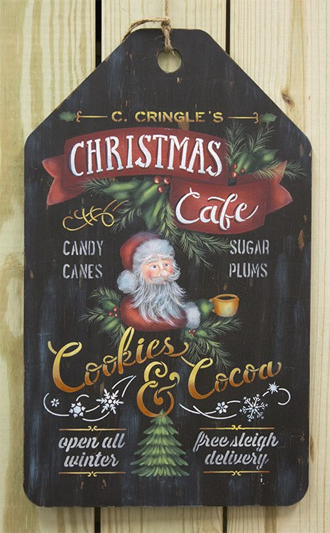 Christmas Cafe - Pattern - E-Packet - Patricia Rawlinson