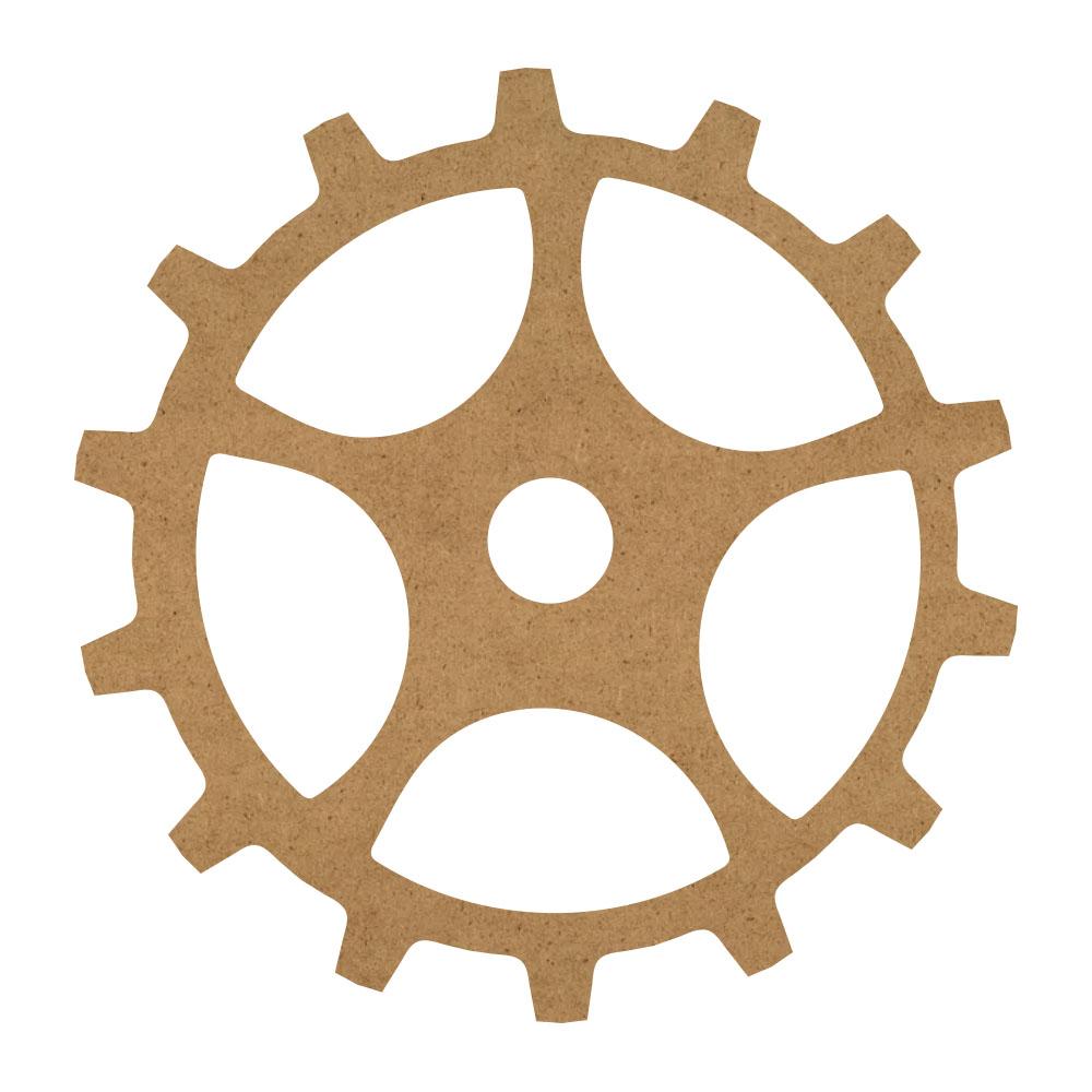 "Open Gear Wood Surface - 13"" x 13"" - WDSF1417_2"