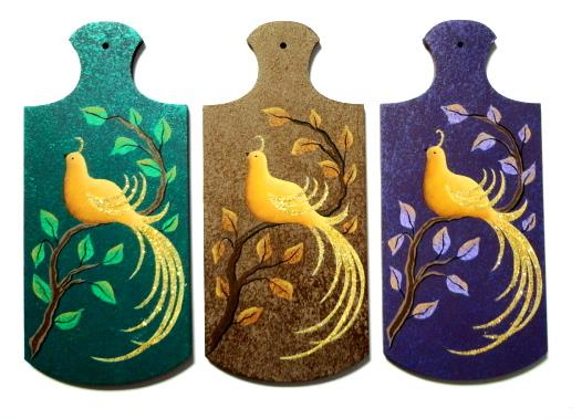 Yellow Birds & Pears Ornaments - E-Packet - Susan Cochrane