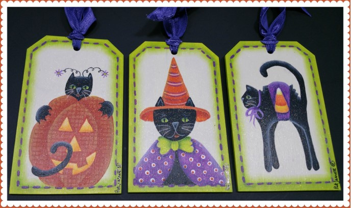 Halloween Tag Trio - E-Packet - Pat Jarrett