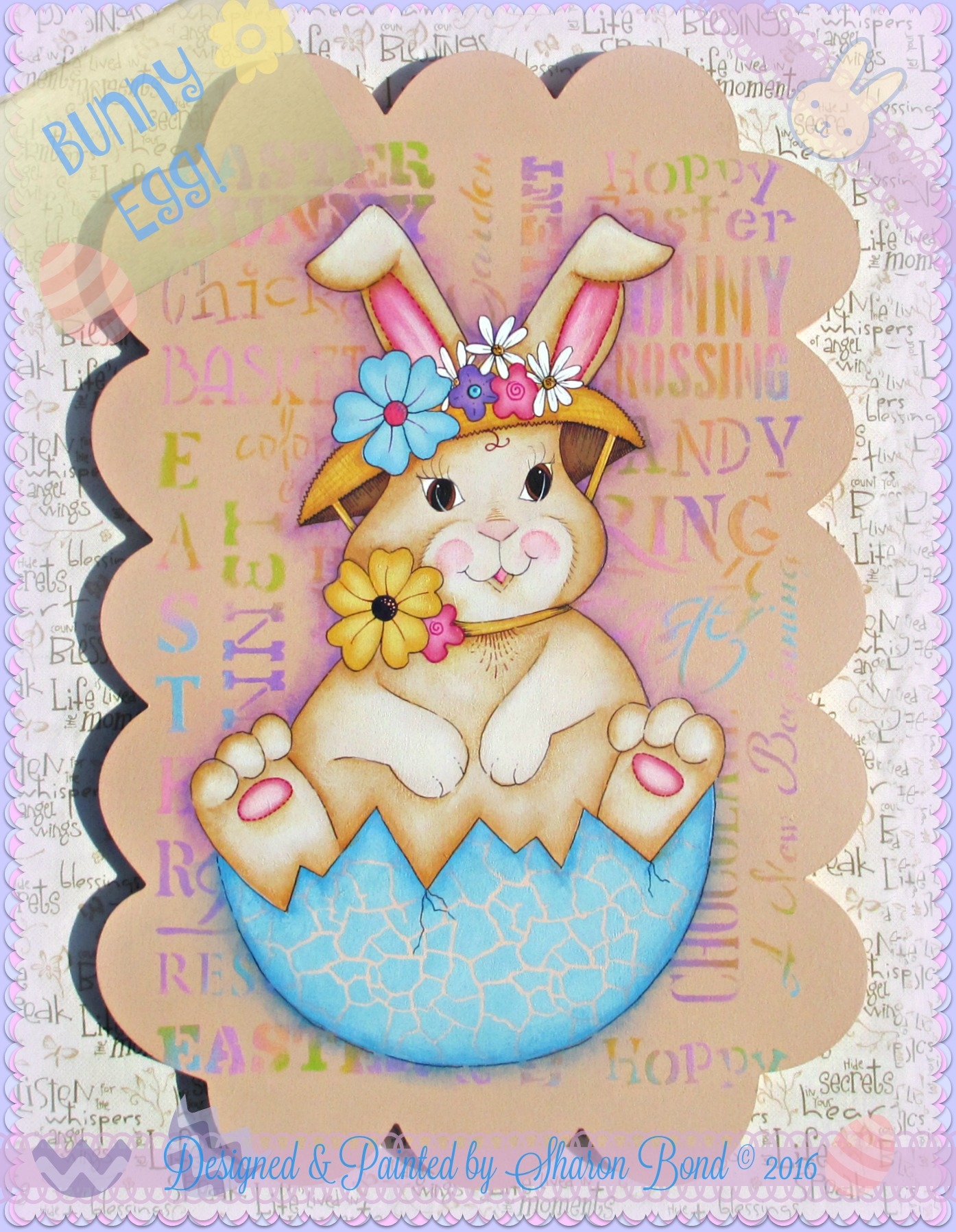 Bunny Egg! - E-Packet - Sharon Bond