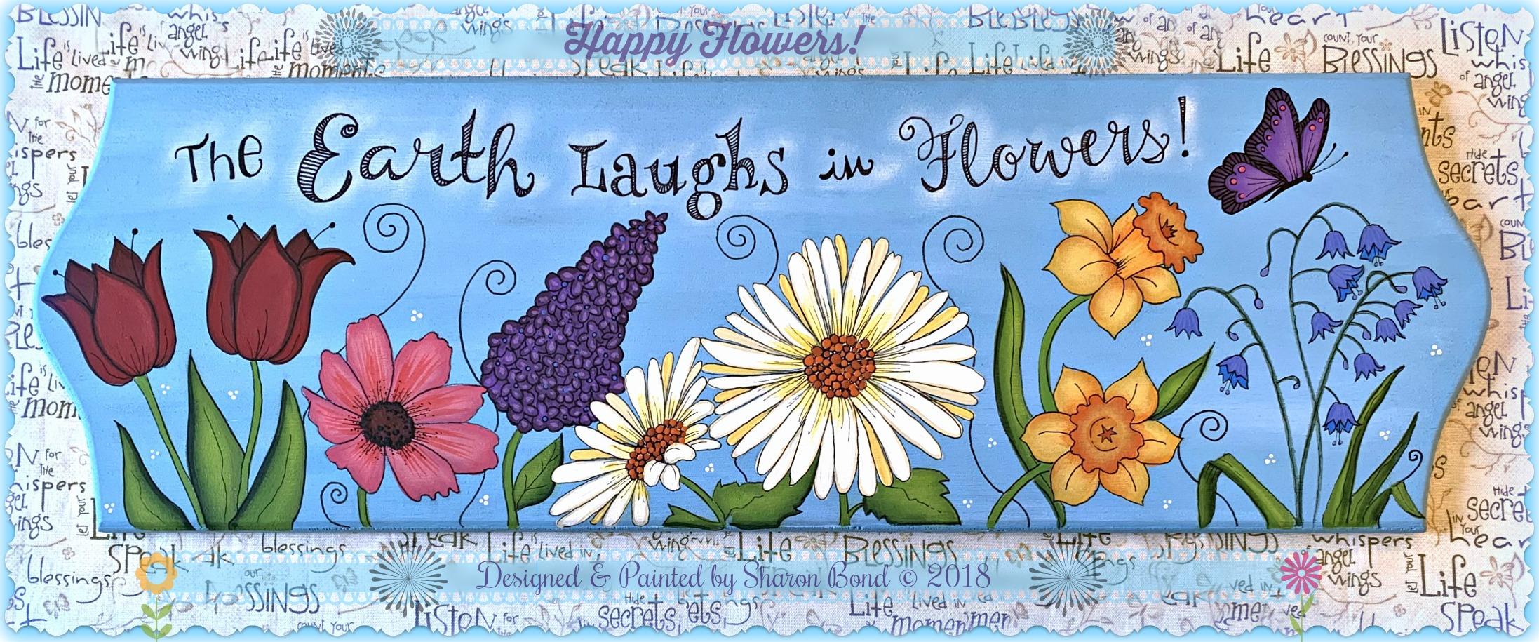 Happy Flowers! - E-Packet - Sharon Bond