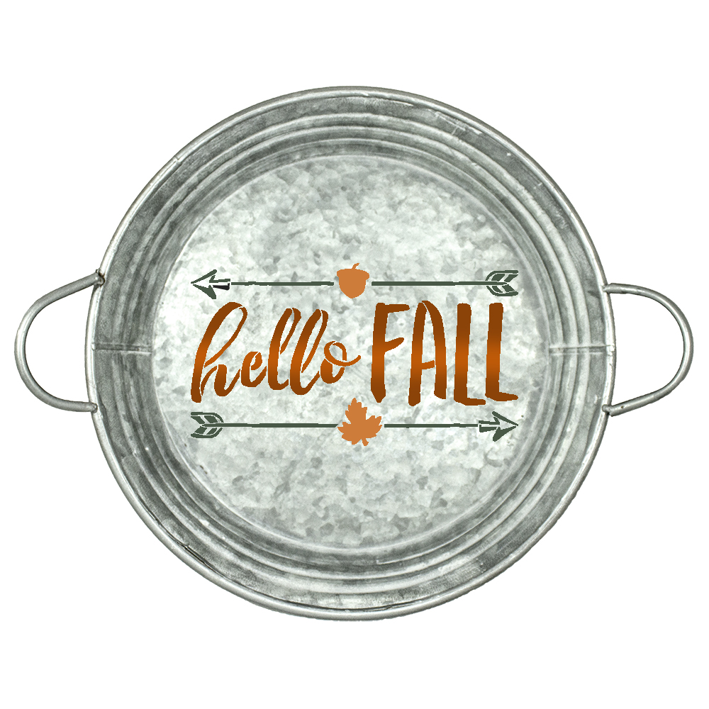 """Hello Fall Stencil by StudioR12 