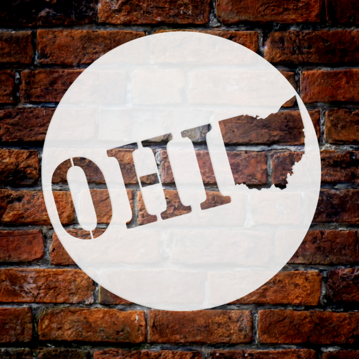 """State of Ohio Stencil 